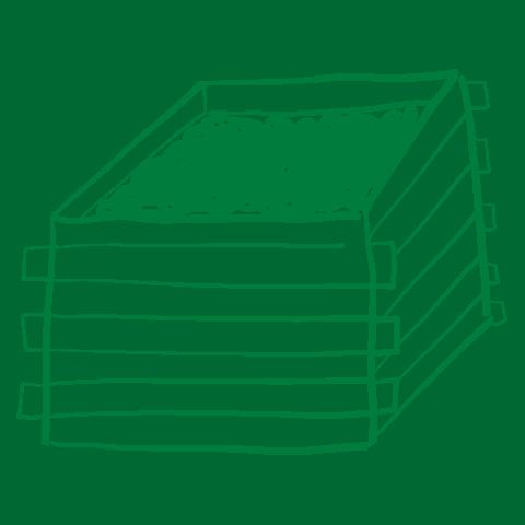 Growing Up Organic Grandir Bio composting